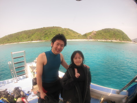 3月19日慶良間ダイビング&ホエールウォッチング_c0070933_2373552.jpg