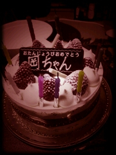 Happy birthday☆ミ_b0214847_10404120.jpg