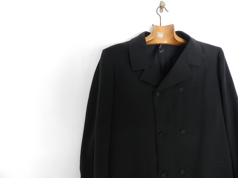 1920's~1930's VINTAGE Frock coat_f0226051_11465225.jpg