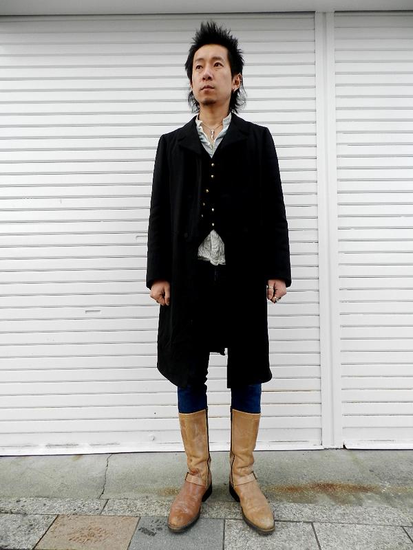 1920\'s~ 1930\'s vintage frock coat snaps_f0226051_1942713.jpg