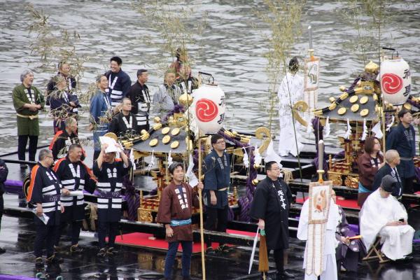 「舟渡御(ふなとぎょ)」@隅田川_f0230666_1037720.jpg