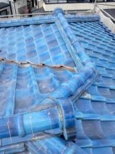 練馬区平和台の現場 大屋根完了_c0223192_20415113.jpg