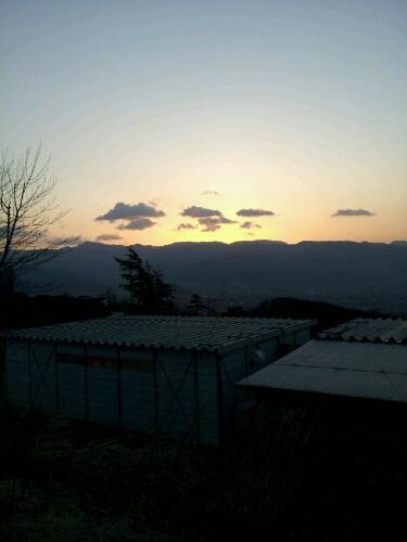 昇る朝日と_a0144804_037558.jpg