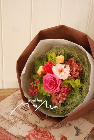 贈呈用花束に_a0136507_206623.jpg