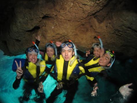 3月20日春分の日は青の洞窟&レスキュー講習_c0070933_2144113.jpg