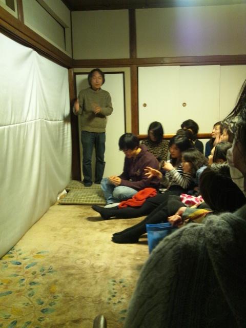 日韓アーティストトークと江戸幻燈機による夜会_d0058440_105422100.jpg