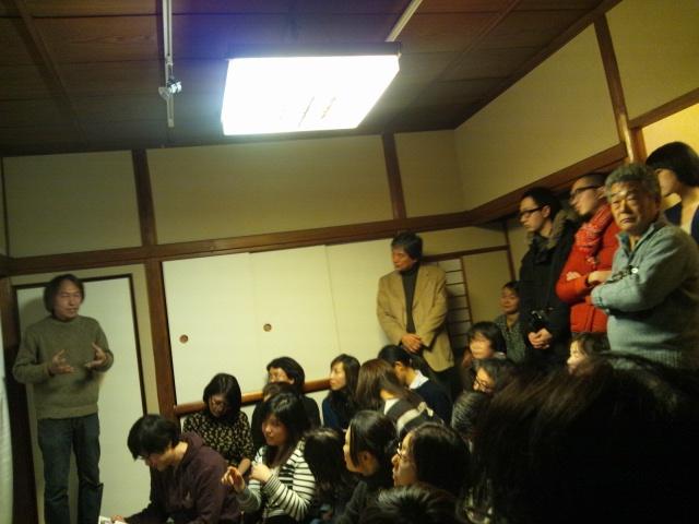 日韓アーティストトークと江戸幻燈機による夜会_d0058440_10554865.jpg