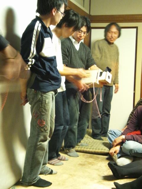 日韓アーティストトークと江戸幻燈機による夜会_d0058440_10585753.jpg