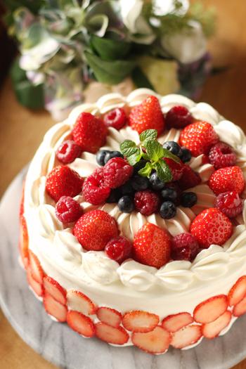 ベリーのケーキ_f0149855_18154893.jpg