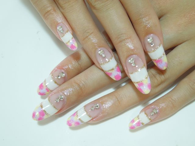 W French Marble Nail_a0239065_1842599.jpg