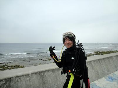 北谷のビーチで体験ダイビング!_a0156273_16573492.jpg