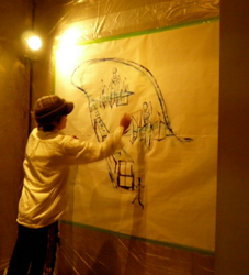 Paint Live Dinner show_d0139575_8195579.jpg
