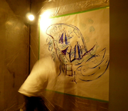 Paint Live Dinner show_d0139575_8205359.jpg