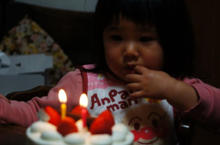 孫の二歳の誕生日