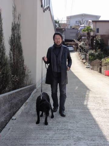 老犬さくらとマスター_f0034816_16181341.jpg