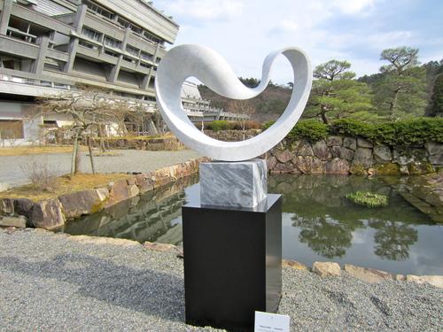 国際会館で彫刻展ー武藤順九展_c0100195_11453785.jpg