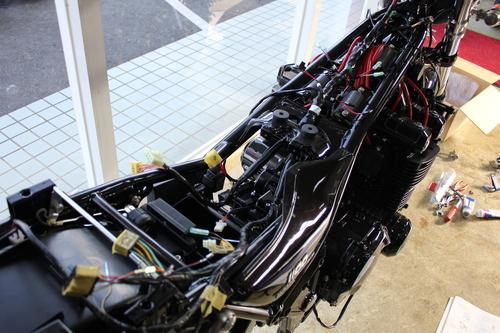 ZEPHYR1100 フルコンプリート車両製作 NO22_d0038712_23503035.jpg