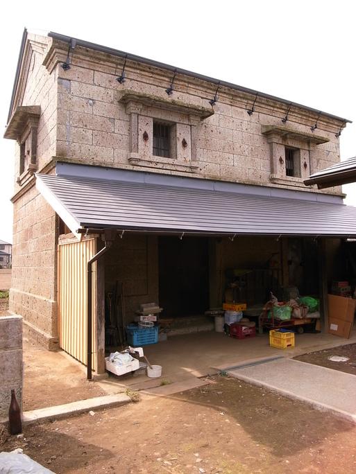 Sさんの家 石倉補修工事 2012/3/22_a0039934_17452227.jpg
