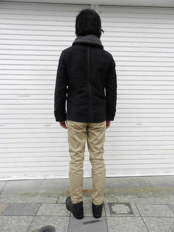 French 50\'s chino pants dead stock snaps_f0226051_21232591.jpg