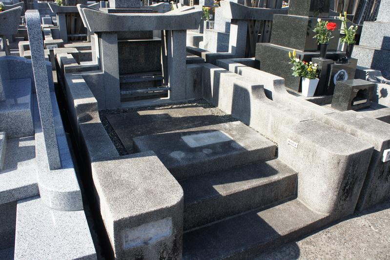Y家様 墓所リフォーム工事  2012.3.22_e0223769_17323221.jpg
