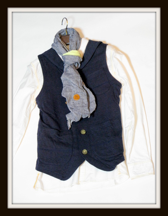 ◆Cut&Sew Made Lapel Vest_e0142928_1132933.jpg