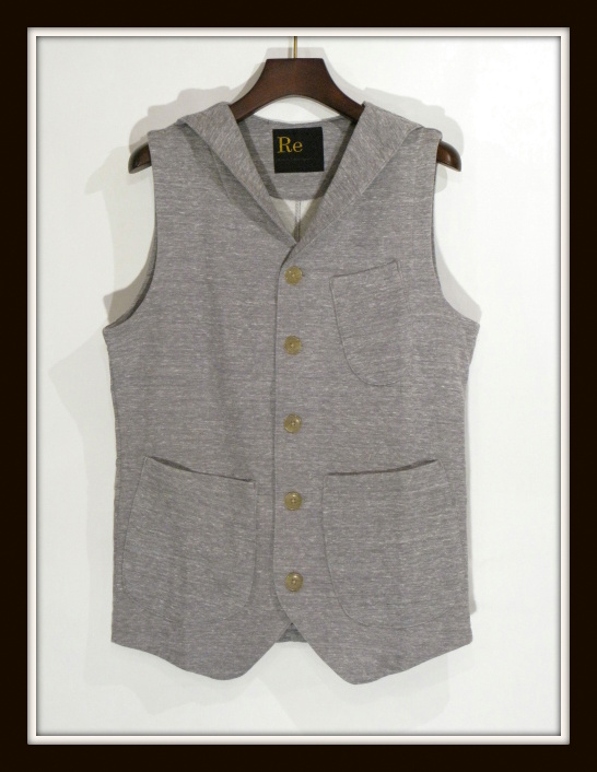 ◆Cut&Sew Made Lapel Vest_e0142928_113842.jpg