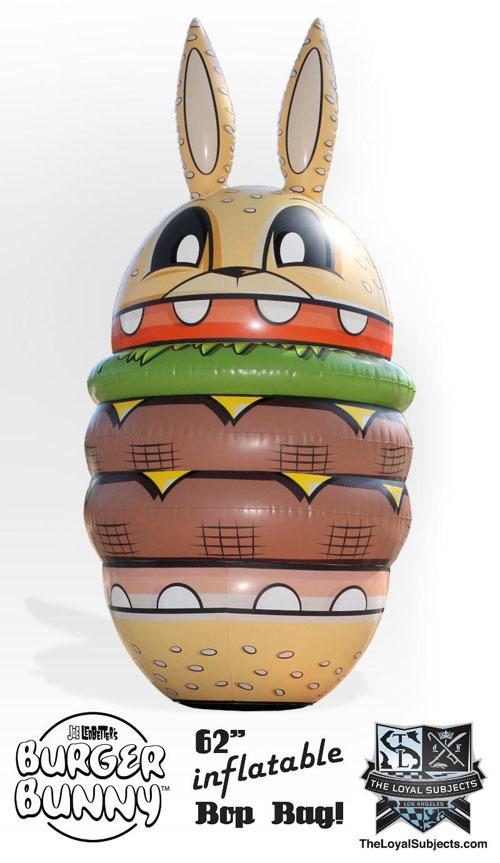 Joe Ledbetterの風船Burger Bunny_a0077842_715466.jpg