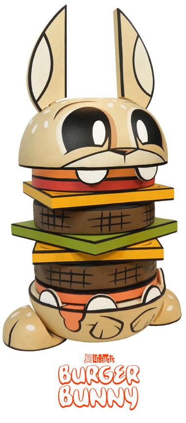 Joe Ledbetterの風船Burger Bunny_a0077842_7231029.jpg