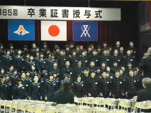 卒業の日。_e0060555_1575784.jpg