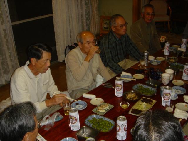 みさき里山クラブ松茸部会「モクズガニパーティー」 in 「仁べ」_c0108460_22533750.jpg
