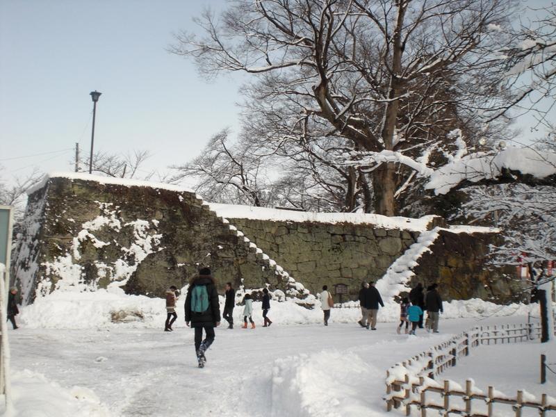 会津で正月(7)雪の鶴ヶ城 _c0013687_2043179.jpg