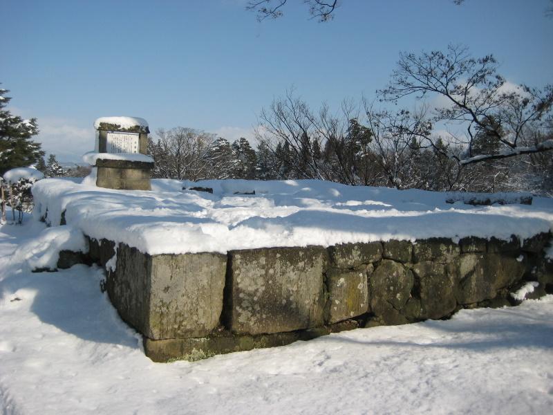会津で正月(7)雪の鶴ヶ城 _c0013687_2045562.jpg