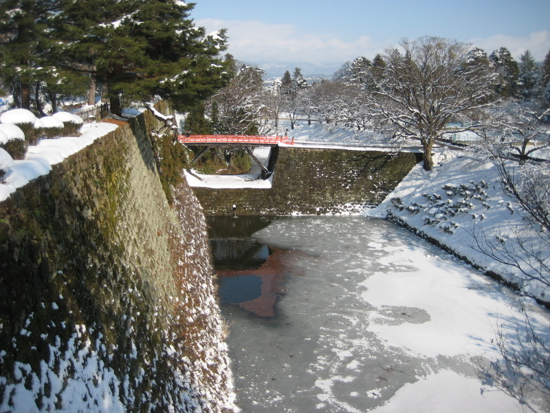 会津で正月(7)雪の鶴ヶ城 _c0013687_2046121.jpg