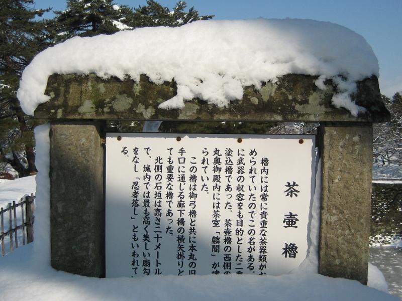 会津で正月(7)雪の鶴ヶ城 _c0013687_2046462.jpg