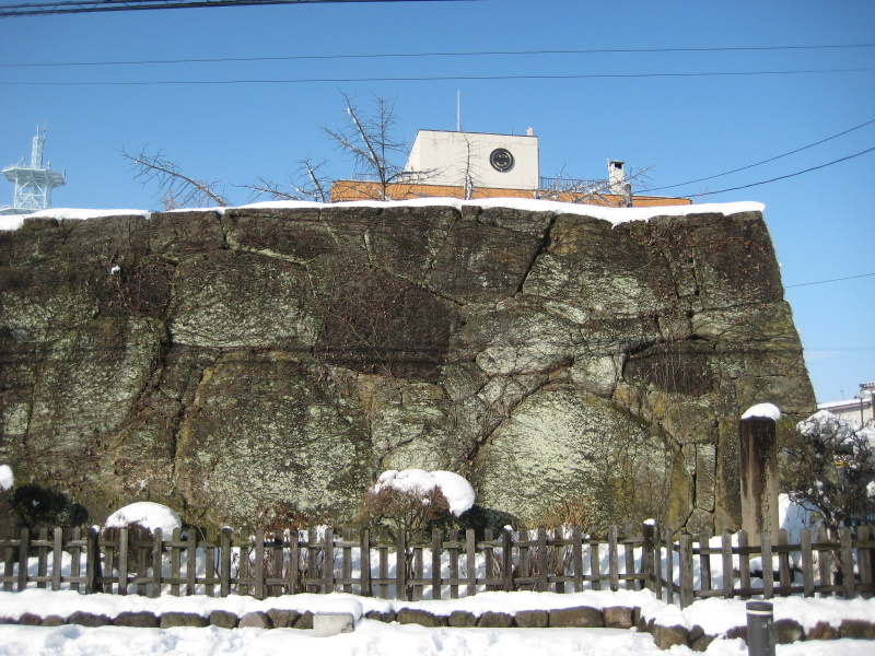 会津で正月(7)雪の鶴ヶ城 _c0013687_7155360.jpg