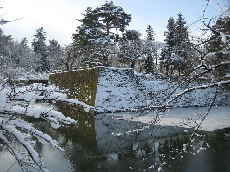 会津で正月(7)雪の鶴ヶ城 _c0013687_7162234.jpg