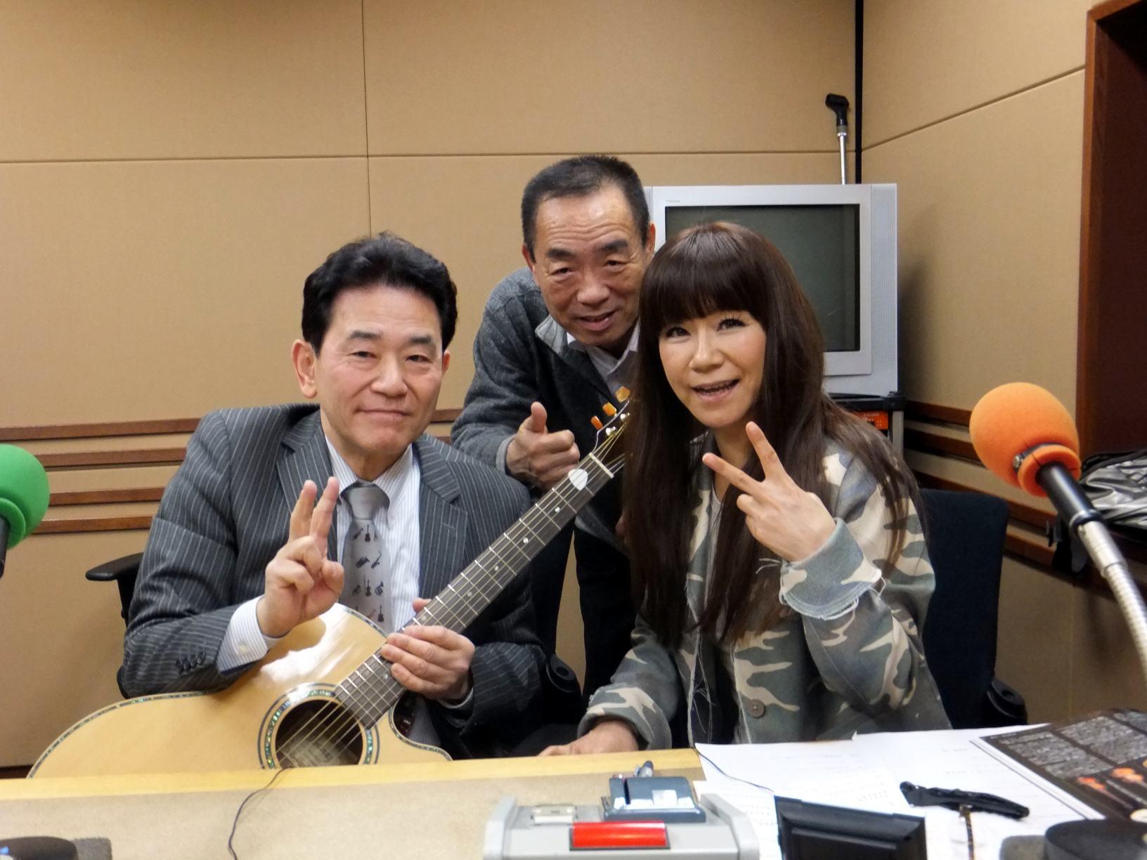 麻布台のラジオ日本で「演歌一直線」収録_e0119092_14252944.jpg