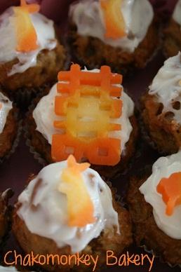 Mini carrot muffins_d0088196_0474386.jpg