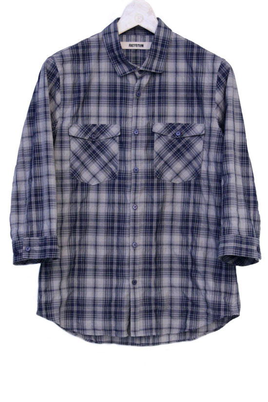 Cotton × Silk × Check_a0155932_1831037.jpg