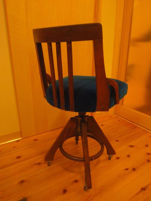 椅子生地の張り替え_c0103137_9595556.jpg