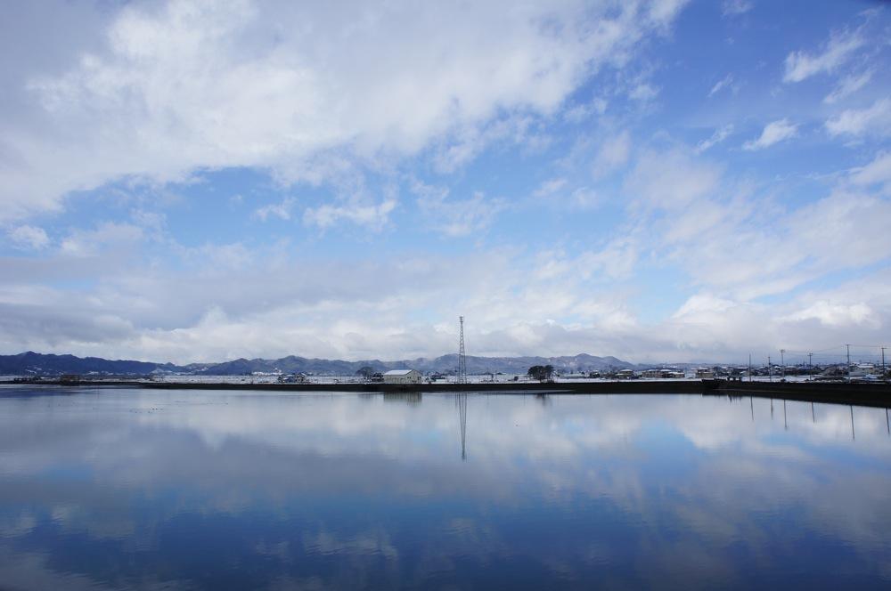 雪が降ったので海に行った_d0001843_1871081.jpg