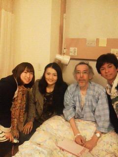 富山大学生時代の同級生が見舞いに_f0030155_18322235.jpg