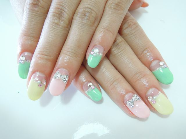 Sherbet Color Nail_a0239065_1704044.jpg