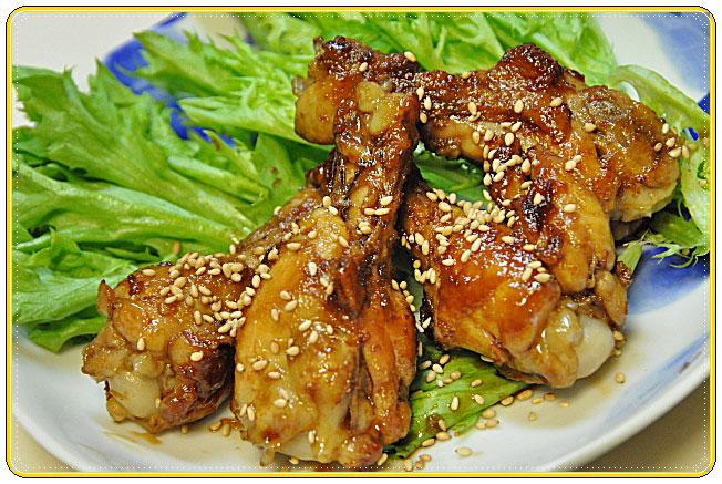 下拵え・・・茹で鶏の手羽元 「照り焼きチキン」_b0053765_18474141.jpg