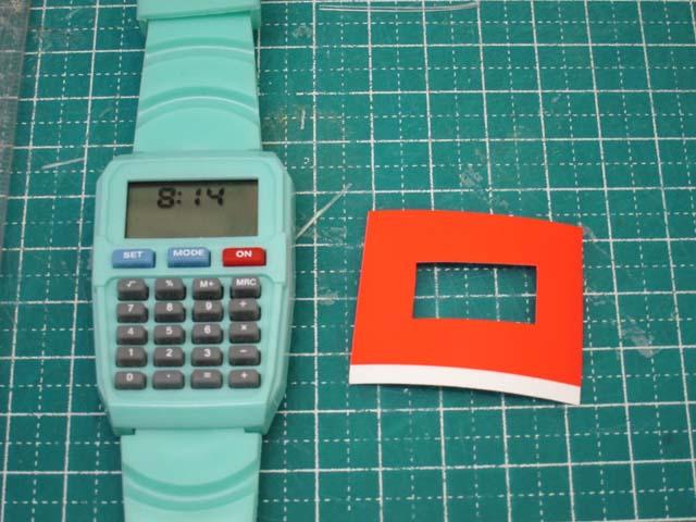腕時計の修理 デザイン変更DIY_c0166765_1638686.jpg