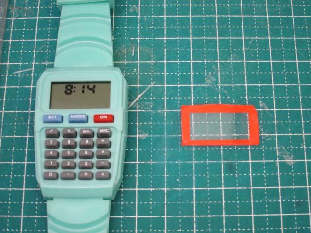 腕時計の修理 デザイン変更DIY_c0166765_16394310.jpg
