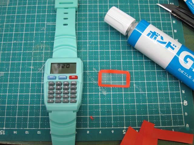 腕時計の修理 デザイン変更DIY_c0166765_16431550.jpg