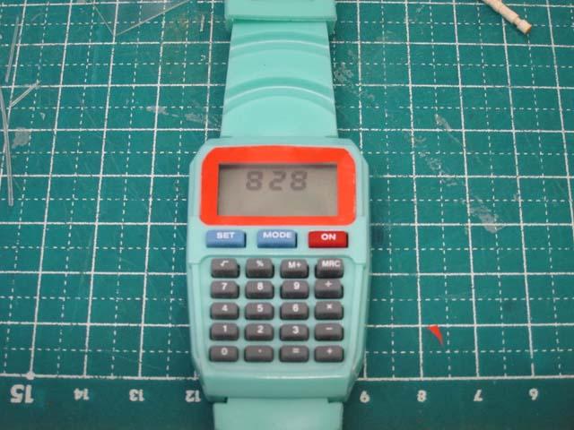 腕時計の修理 デザイン変更DIY_c0166765_16443640.jpg