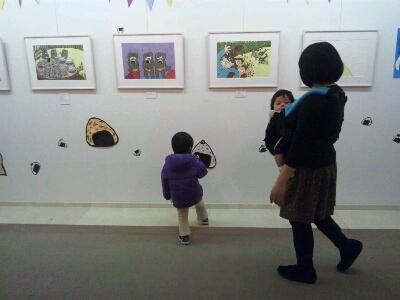 シゲタサヤカちゃんの展示_b0196348_014656.jpg
