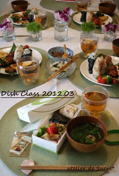 お花見弁当、再び@3月Dish Class_b0065587_2192565.jpg